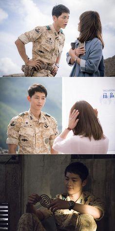 """Descendants of the Sun"" Song Joong-ki's quotes"