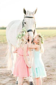Taelyn & Brooklyn – Equestrian Session – {Virginia Equine Photographer}