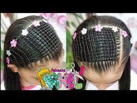 Peinado Infantil/ Casual Facil Y Rapido/ Peinados Rakel 41 Kids Braided Hairstyles, Princess Hairstyles, Black Girls Hairstyles, Unique Hairstyles, Bun Hairstyles, Wedding Hairstyles, Braids For Kids, Girls Braids, Ladder Braid