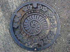 Mine Yamaguchi , manhole cover 2 (山口県美祢市のマンホール2)   Flickr - Photo Sharing!