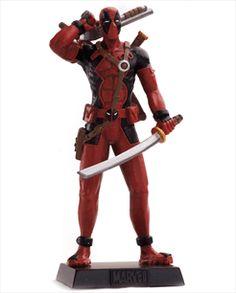 Marvel Figurines - Edição 56 - Deadpool | Loja Eaglemoss - Coleções