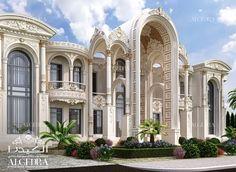 Luxury Interior Design Dubai, Interior Design Company in UAE. Classic House Design, Classic House Exterior, House Front Design, Dream House Exterior, Interior Design Dubai, Residential Interior Design, Interior Design Companies, Modern Interior, Design Services
