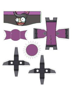 Castle Crashers                   Rich Industrialist/Industrial Prince paper craft