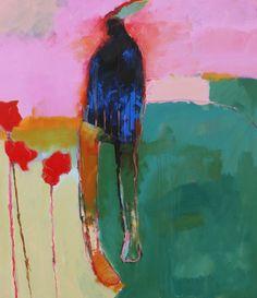 Chris Gwaltney: Breakable / 65 x 57 / Oil on canvas -
