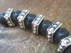 natural lava beads!