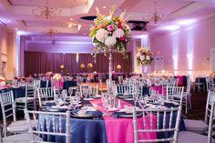 Preppy Weddings // Aisle Perfect  Southern Wedding Ballroom Reception via Southern Weddings