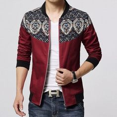 Bolivian Patched Casual Fall jacket