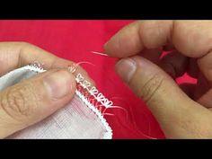 İki renkle yapılan 3 sırada giden sıralı yemeni modeli/Turkic Needle lace - YouTube