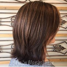 "8 Likes, 1 Comments - Dawn Marshall (@dawnmarshallhair) on Instagram: ""Babylights and Lowlights 🍂🍁 . . . #dawnmarshallhair #babylights #caramelhighlights #lowlights…"""