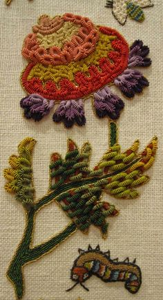 The Embroiderer's Story: Teaser - Stumpwork Mirror