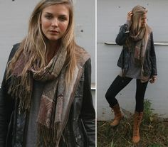 Earthy style, I wish I could pull this off.