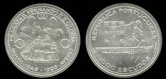 1000 Escudos - Prata, 1995