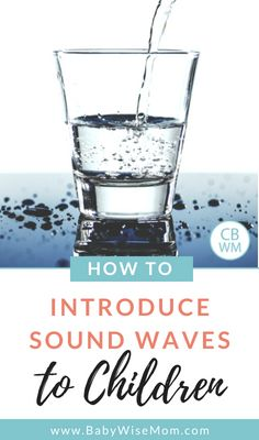 Musical Science: Easy Way to Introduce Sound Waves to Kids Musical Science: An Easy Way to Introduce Sound Waves to Children. A fun way to learn about science through music. How to teach sound waves Science Activities For Kids, Cool Science Experiments, Toddler Learning Activities, Music Activities, Preschool Science, Science Fair, Science Lessons, Teaching Science, Science Projects