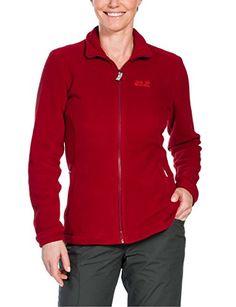 Red Jacke Jack Midnight Indian M Wolfskin Damen Jacke Fleece 2210003 1702261 Moon PwB0qPU