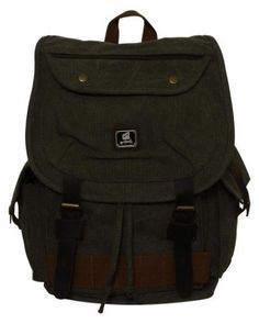75edbcedbed8 Heavy Duty Canvas Rucksack with Leather Trims. Messenger BagBackpacksBackpack  ...
