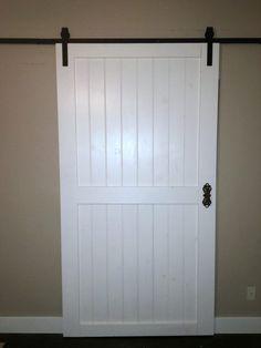 Cheap & Easy DIY Barn Door