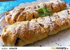 Strudel, Desert Recipes, Bread, Chicken, Vegan, Food, Cakes, Sweet, Fotografia