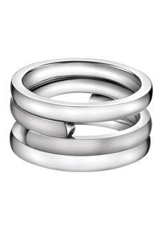 Calvin Klein - CKJ Begin Ring - Silver