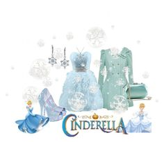 """Cinderella's Snowflake Holiday Party"" by jennziegirl ❤ liked on Polyvore featuring Bling Jewelry, Amanda Rose Collection, disney, cinderella, fashionset and disneycharacter"