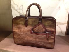 berluti bag of dreams.. observed in the wild at Harrods..