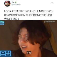 Bts Funny Videos, Bts Memes Hilarious, Bts Taehyung, Bts Bangtan Boy, Taekook, Bts Playlist, Bts Dancing, V Bts Wallpaper, Bts Meme Faces