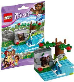 41046 LEGO Friends Animals Series 5 - Brown Bear's River