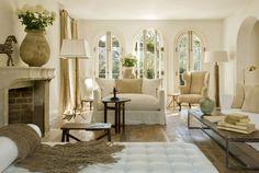 Beautiful neutral living room.