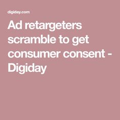 With Apple making moves against ad tracking and the GDPR being enforced in May, retargeters are desperately trying to get consent to track users. Cyber, How To Get, Ads, Apple, Apple Fruit, Apples