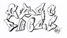 Billedresultat for best graffiti letters alphabets
