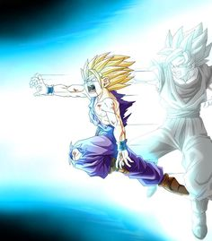 father/son kamehame ha - Cell saga & one of the greatest moments of DBZ