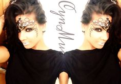Sexy simple Halloween mask
