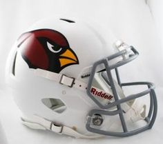 Arizona Cardinals Helmet Riddell Authentic Full Size Speed Style Special Order