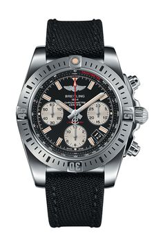 Breitling Chronomat 41 Airborne Watch Onyx black dial