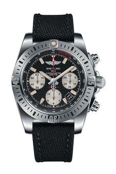 Breitling Chronomat 41 Airborne Watch Onyx black dial
