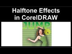 Creating halftone effects in CorelDraw - YouTube