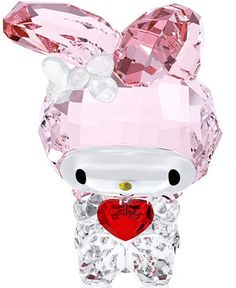 Swarovski My Melody Red Heart Collectible Figurine - Collectible Figurines - For The Home - Macy's