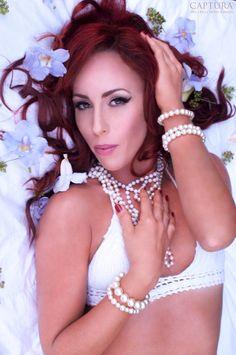 Studio-Captura Photography. www.facebook.com/studiocaptura. #fashion #photography #captura #beauty #boudoir #bellabellatalent #model #hair #makeup #redhead #photoshoot #flowers #studiocaptura