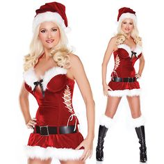Buy #Corsets online at best price in SEXY #XMAS COSTUME #SALE from Corset Dresskart.  Order Now:- http://www.corsetdresskart.com/Sale/Sale-sexy-Xmas-Costume