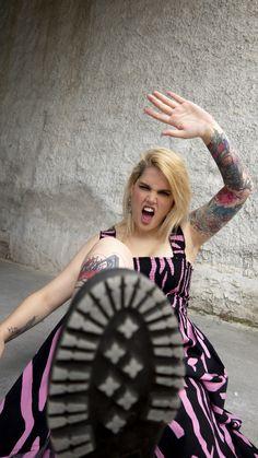 #casualstyle #ootd #everydaystyle #casualfashion #everydayfashion #howto #howtostyle #zebraprint #zebradress #dress #pinkdresses #drmartens #drmartensoutfit #tattooideas #tattoo #aesthetic #2020 #egirl #altgirl #tattoosleeve #sleevetattoo #tattooedgirls #blonde #blondehair #blondegirl #iMikriOllandeza #MikriOllandeza Dr Martens Outfit, Zebra Print, Dr. Martens, Girl Tattoos, Everyday Fashion, Sleeve Tattoos, Pink Dress, Blonde Hair, Ootd