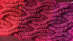 Briossipalmikot sopivat täydellisesti huiviin, sillä neule on samannäköistä… Knitting Stiches, Cable Knitting, Knitting Charts, Knitting Patterns, Crochet Patterns, Needlework, Knitted Hats, Diy And Crafts, Knit Crochet