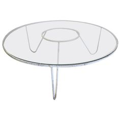 Large Round Cocktail Table by Mathieu Mategot