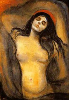 Edward Munch - Madona