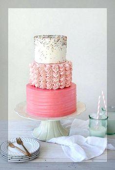 Wedding cakes, one really must read brilliant cake illustration, image number 3230500990 - Terrific cake information. Birthday Cake For Women Elegant, Birthday Cakes For Women, Birthday Cake Girls, Pink Birthday, Birthday Bash, Birthday Wishes, Sprinkle Wedding Cakes, Sprinkle Party, Sprinkle Cakes