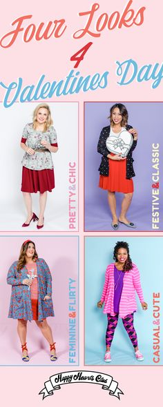 ee83414008a827 Four looks for Valentines Day | Different agendas call for different  outfits. Thankfully, the