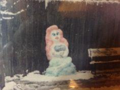 Little Mermaid in Snow