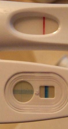 blue dye vs. pink dye pregnancy tests--don't buy EPT tests!