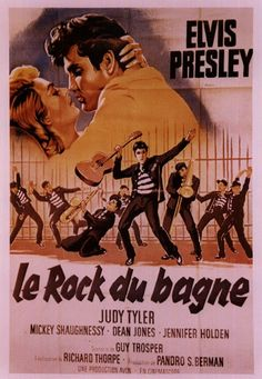 Jailhouse Rock is a 1957 American musical drama film directed by Richard Thorpe and starring Elvis Presley, Judy Tyler, and Mickey Shaughnessy.