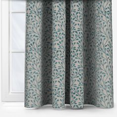 Pimlico Teal Teal Curtains, Custom Curtains, Teal Lamp Shade, Teal Cushions, Made To Measure Blinds, Gray Bedroom, Minimalist, Modern
