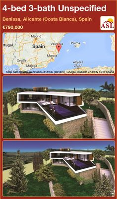 4-bed 3-bath Unspecified in Benissa, Alicante (Costa Blanca), Spain ►€790,000 #PropertyForSaleInSpain