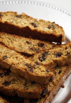 gf almond joy biscotti